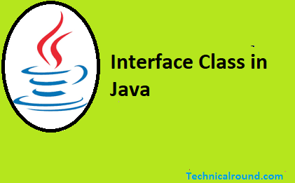 Interface Class in Java